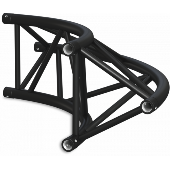 ST40C300U - Triangle section 40 cm circle truss, tube 50x2mm, 4x FCT5 included, D.300, V.Up #24