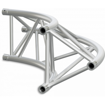 ST40C400U - Triangle section 40 cm circle truss, tube 50x2mm, 4x FCT5 included, D.400, V.Up #22
