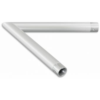 SU22L2045 - 2-way corner for SU22, extrude tube 35x2mm, FCU3 included, 45° #2