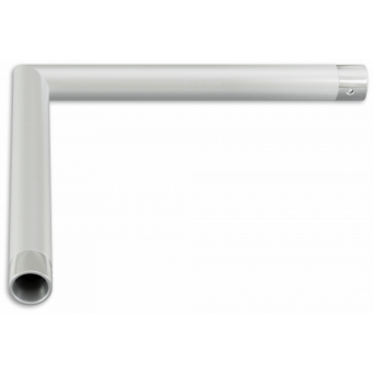 SU22L2120 - 2-way corner for SU22, extrude tube 35x2mm, FCU3 included, 120° #3