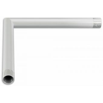SU22L2135 - 2-way corner for SU22, extrude tube 35x2mm, FCU3 included, 135° #3