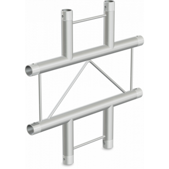 SF22X4H - 4-way X joint for SF22 Series, extrude tube 35x2mm, 2x FCF3 included, Horiz. #2