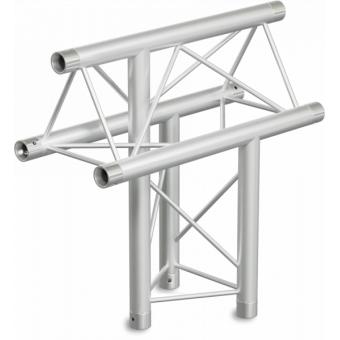 ST22T3LU - 3-way T joint for ST22 Series, tube 35x2mm, 2x FCT3 included, Left, V.Up #4