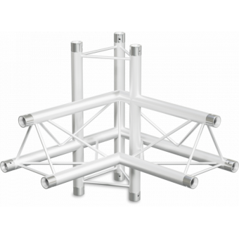 ST22X4RD - 4-way X joint for ST22 Series, tube 35x2mm, 2x FCT3 included, Right, V.Down #2