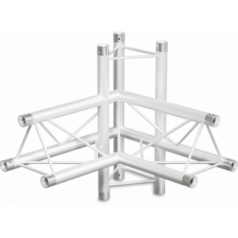 ST22X4RD - 4-way X joint for ST22 Series, tube 35x2mm, 2x FCT3 included, Right, V.Down #3