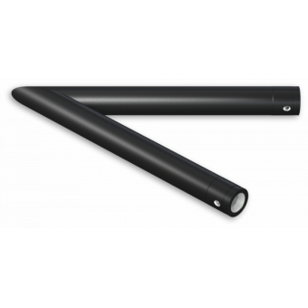 SU30L2120B - 2-way corner for SU30, extrude tube 50x2mm, FCU5 included, 120°, BK #2