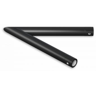 SU30L2135B - 2-way corner for SU30, extrude tube 50x2mm, FCU5 included, 135°, BK #2