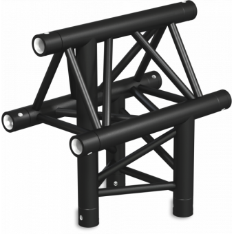 ST30T3LU - 3-way T joint for ST30 Series, tube 50x2mm, 2x FCT5 included, Left, V.Up #11