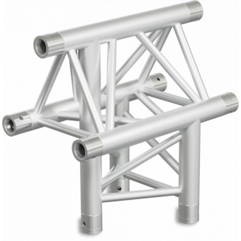ST30T3LU - 3-way T joint for ST30 Series, tube 50x2mm, 2x FCT5 included, Left, V.Up #20