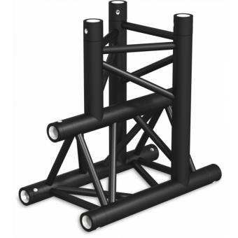 ST30T3LUB - 3-way T joint for ST30 Series, tube 50x2mm, 2x FCT5 included, Left, V.Up,BK #2