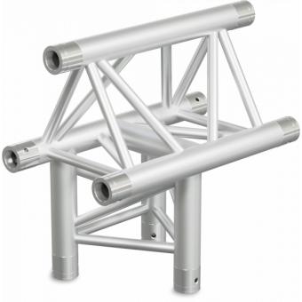 ST30T3LUB - 3-way T joint for ST30 Series, tube 50x2mm, 2x FCT5 included, Left, V.Up,BK #6