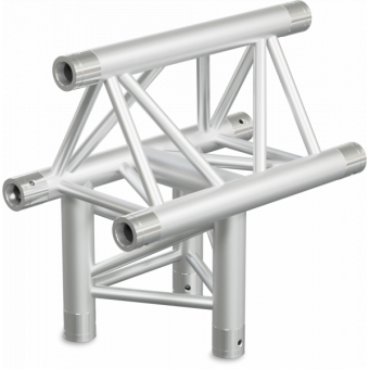 ST30T3DB - 3-way T joint for ST30 Series, tube 50x2mm, 2x FCT5 included, V.Down,BK #6