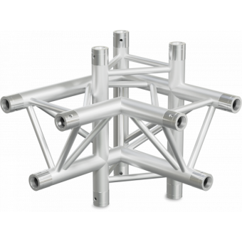 ST30X4RD - 4-way X joint for ST30 Series, tube 50x2mm, 2x FCT5 included, Right, V.Down #3