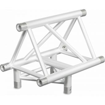 ST40T3LUB - 3-way T joint for ST40 Series, tube 50x2mm, 2x FCT5 included,Left,V.Up.BK #3