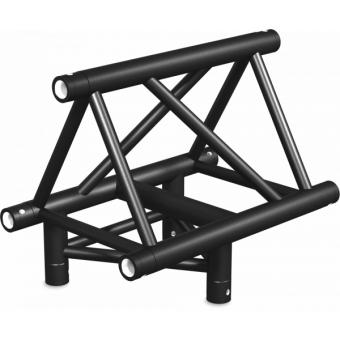 ST40T3LUB - 3-way T joint for ST40 Series, tube 50x2mm, 2x FCT5 included,Left,V.Up.BK #4