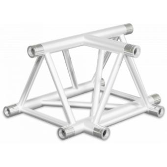 ST40T3LUB - 3-way T joint for ST40 Series, tube 50x2mm, 2x FCT5 included,Left,V.Up.BK #5