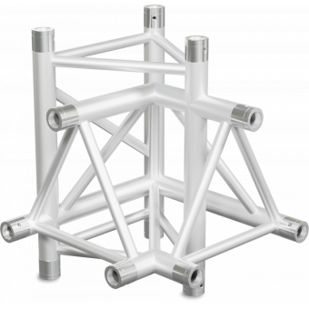 ST40X4L - 4-way X joint for ST40 Series, tube 50x2mm, 2x FCT5 included, Left #5