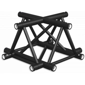 ST40X4UB - 4-way X joint for ST40 Series, tube 50x2mm, 2x FCT5 included, V.Up,BK #2