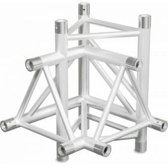 ST40X4UB - 4-way X joint for ST40 Series, tube 50x2mm, 2x FCT5 included, V.Up,BK #3