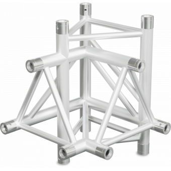 ST40X4LB - 4-way X joint for ST40 Series, tube 50x2mm, 2x FCT5 included, Left,BK #3