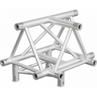 ST40T4D - 4-way T joint for ST40 Series, tube 50x2mm, 2x FCT5 included, V.Down