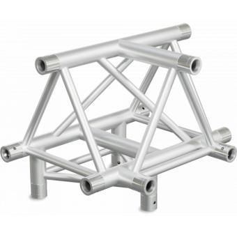ST40T4UB - 4-way T joint for ST40 Series, tube 50x2mm, 2x FCT5 included, V.Up,BK