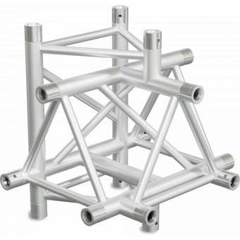 ST40T5U - 5-way T joint for ST40 Series, extrude tube 50x2mm, 2x FCT5 included, V.Up