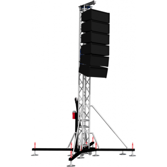PATWR10H09 - Tower lifter for audio system,Max height (8,5m)Max Load (1000kg)