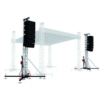 PATWR07H10 - Tower lifter for audio system,Max height (10,5m)Max Load (750kg) #5