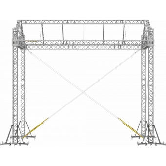 SRD30M0806 - Two-slope roof, 8.5x6x8 m #11