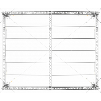 SRD30M0806 - Two-slope roof, 8.5x6x8 m #12