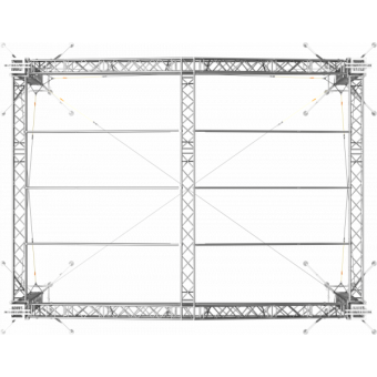 SRD30M0806 - Two-slope roof, 8.5x6x8 m #4