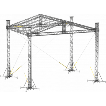 SRD30M0806 - Two-slope roof, 8.5x6x8 m #5
