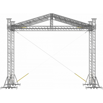SRD30M0806 - Two-slope roof, 8.5x6x8 m #6
