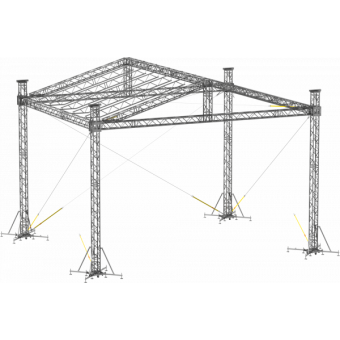 SRD30M0806 - Two-slope roof, 8.5x6x8 m #9