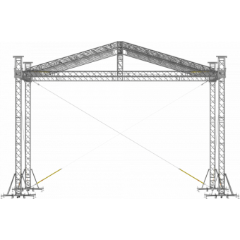 SRD30M0806 - Two-slope roof, 8.5x6x8 m #10