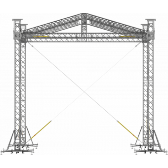 SRD40M1008 - Two-slope roof, 10.5x8x8 m #2