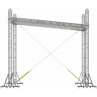 SRS30M0604 - Flat roof structure, 6x4.5x5 m #11