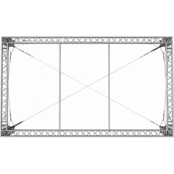SRS30M0604 - Flat roof structure, 6x4.5x5 m #4