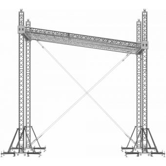 SRS30M0604 - Flat roof structure, 6x4.5x5 m #7