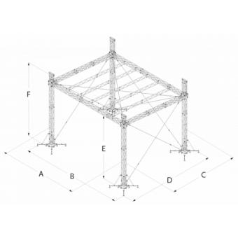 SRS30M0806 - Flat roof structure, 8x6.5x7 m #16