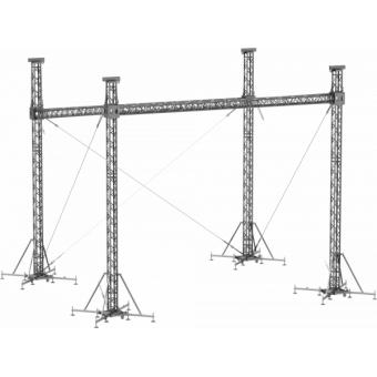 SRS30M0806 - Flat roof structure, 8x6.5x7 m #5