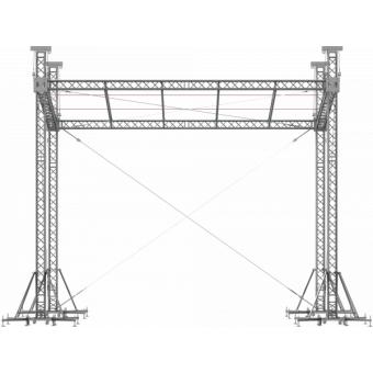 SRS30M0806 - Flat roof structure, 8x6.5x7 m #6