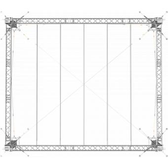 SRS40M1008 - Flat roof structure, 10x8.5x8 m #12