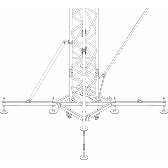 SRS40M1008 - Flat roof structure, 10x8.5x8 m #13