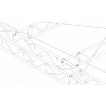 SRS40M1008 - Flat roof structure, 10x8.5x8 m #14