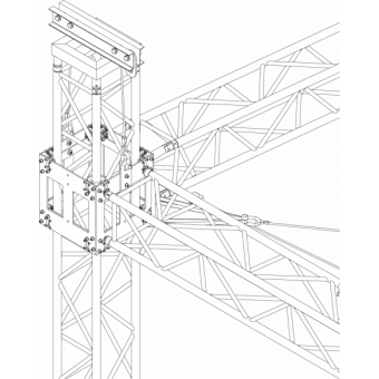 SRS40M1008 - Flat roof structure, 10x8.5x8 m #15