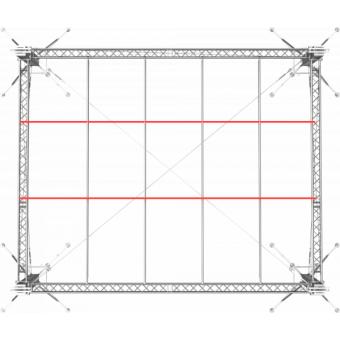 SRS40M1008 - Flat roof structure, 10x8.5x8 m #8
