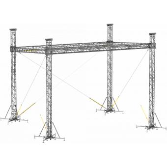 SRS40M1008 - Flat roof structure, 10x8.5x8 m #9