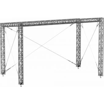 SRS40M1008 - Flat roof structure, 10x8.5x8 m